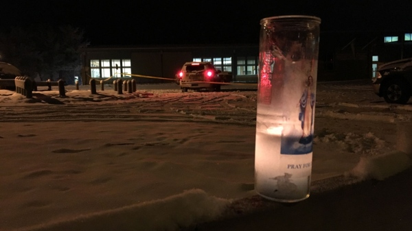 candle-outside-la-loche-community-school